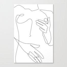 Sensual Erotic Canvas Print
