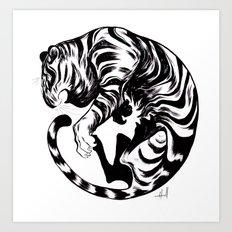 Tiger Day 2014 Art Print