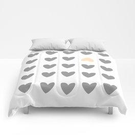 heart of contradiction Comforters