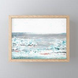 Scenic Impressions: FOSSIL BEACH Framed Mini Art Print