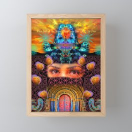 When Seeking The Divine, Please Leave Your Ego At The Door Framed Mini Art Print
