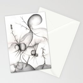 Budding Spiders Stationery Cards