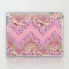 Romantic zig zag Laptop & iPad Skin