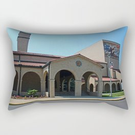 Lourdes University-  Franciscan Center in the Spring IV Rectangular Pillow