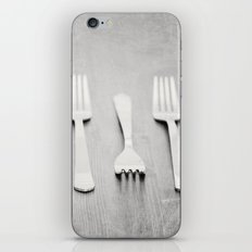 There's a fork in the road, but you never take it, always go the same way home... iPhone & iPod Skin