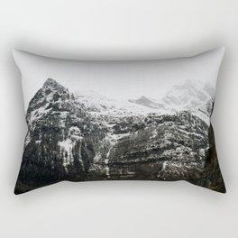 Swiss Alps - v3 Rectangular Pillow