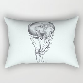 Skull Ball Rectangular Pillow