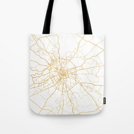 MOSCOW RUSSIA CITY STREET MAP ART Tote Bag