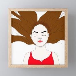 Let go Framed Mini Art Print