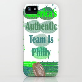 PhillyFootball1 iPhone Case