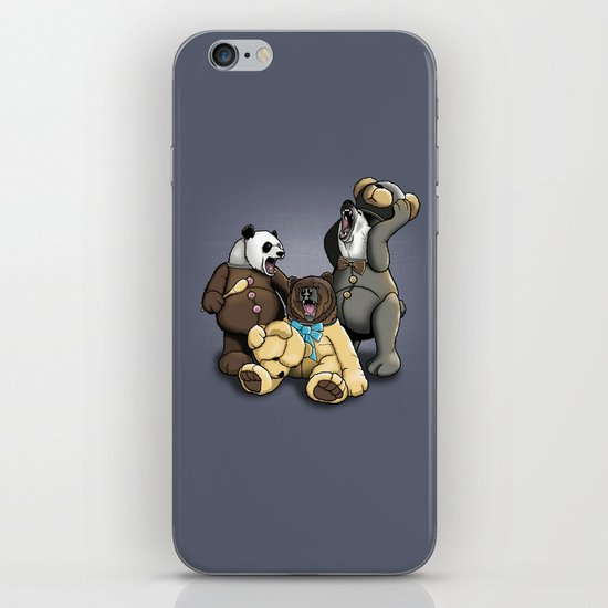 Three Angry Bears iPhone & iPod Skin
