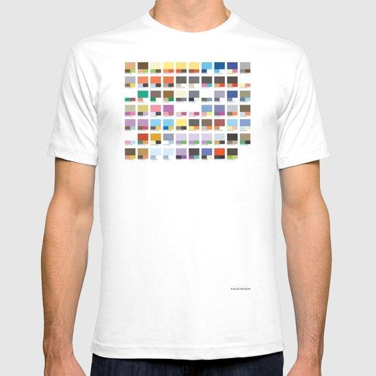 Poke-Pantone 6 (Kalos Region) T-shirt