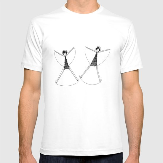 Snow angels T-shirt