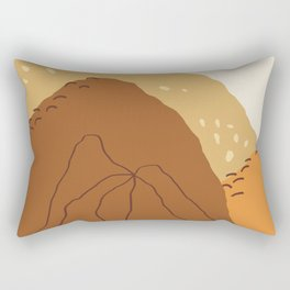 Mountain Peak Rectangular Pillow
