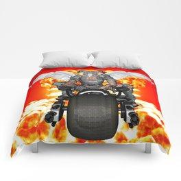 Biker of the Apocalypse-Conquest Comforters