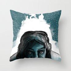 The Iceman Cometh Throw Pillow