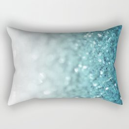 MERMAID GLITTER - MERMAIDIANS AQUA Rectangular Pillow