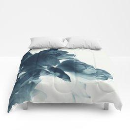 Blue Paeonia #6 Comforters