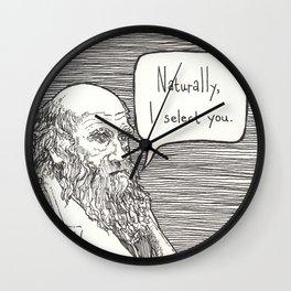 Naturally, I select you Wall Clock