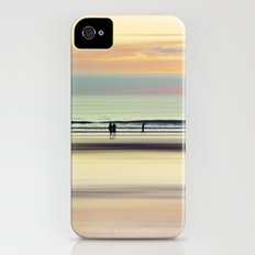 an evening at the beach Slim Case iPhone (4, 4s)