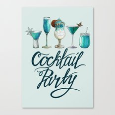 Winter Cocktail Party! Canvas Print