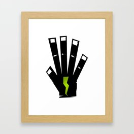 Right Hand Framed Art Print