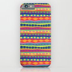 Stripey-Crayon Colors Slim Case iPhone 6s