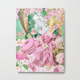 Marie Antoinette Garden Party Metal Print