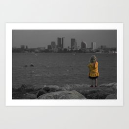 world citizen Art Print