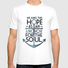 WE HAVE THIS HOPE. Mens Fitted Tee White MEDIUM