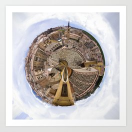 Segovia Art Print