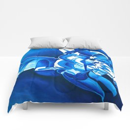 #22 – dipinto di blu… Comforters
