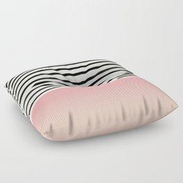 Blush x Stripes Floor Pillow