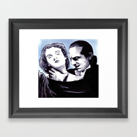 I Never Drink Wine Framed Art Print