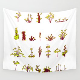 Plants plants plants Wall Tapestry