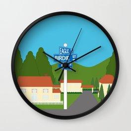 WE♥GOLF Wall Clock