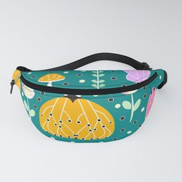 Bugs and mushrooms Fanny Pack