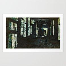Le passage Art Print