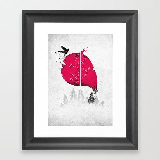 OH SH*T! Framed Art Print