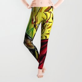 Flashes and lights Leggings