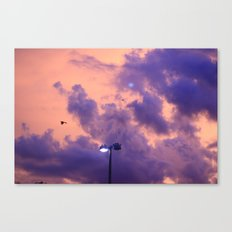 clouds(flying)2 Canvas Print