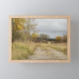 A Walk in Willow Flats - Grand Tetons Framed Mini Art Print