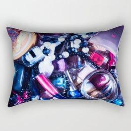 Make up cosmetics Rectangular Pillow