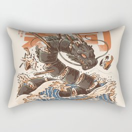 Great Sushi Dragon Rectangular Pillow