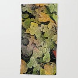 Inspired Layers Beach Towel