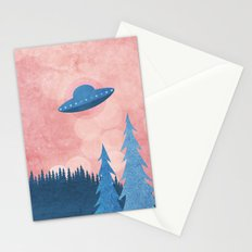 Unidentified Flying Object Stationery Cards