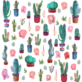 Art Print - cactus and butts - franciscomffonseca
