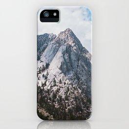 Thor peak iPhone Case