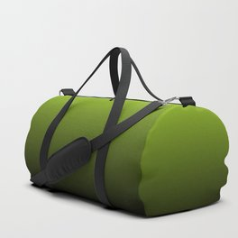 Ombre | Lime Green and Charcoal Grey Duffle Bag