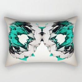 Tyto aurantia Rectangular Pillow